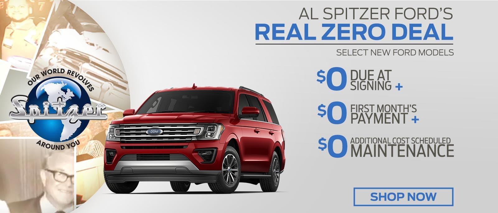 Al Spitzer Ford >> Ford Dealer Near Akron Al Spitzer Ford Cuyahoga Falls